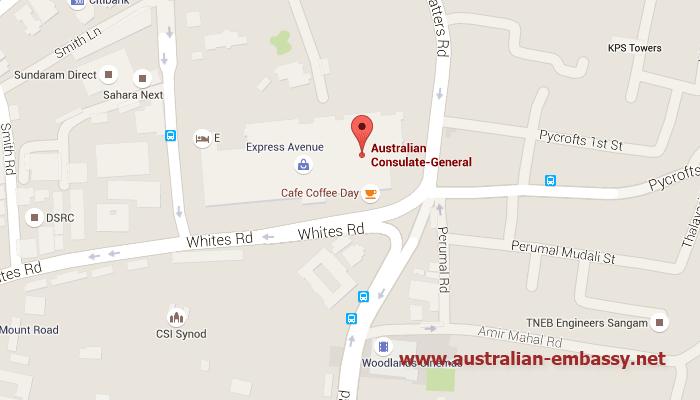 Australian Consulate in Chennai