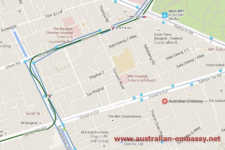 Australian Embassy in Bangkok