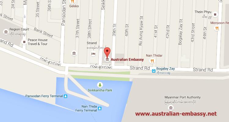 Australian Embassy in Myanmar