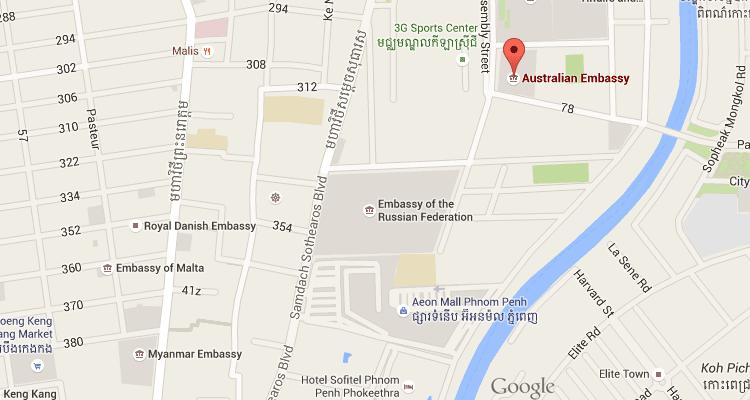 Australian Embassy in Cambodia