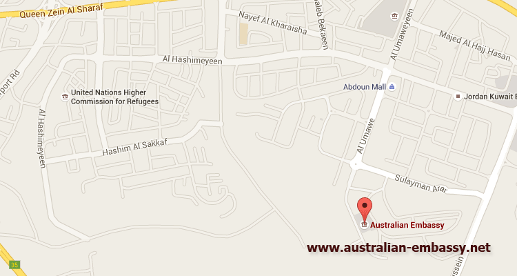 Australian Embassy in Jordan