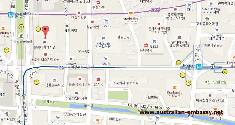 Australian Embassy Korea