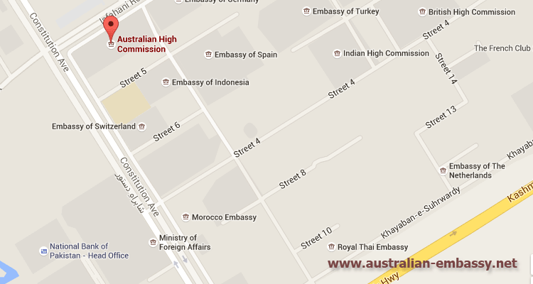 Australian High Commission Pakistan