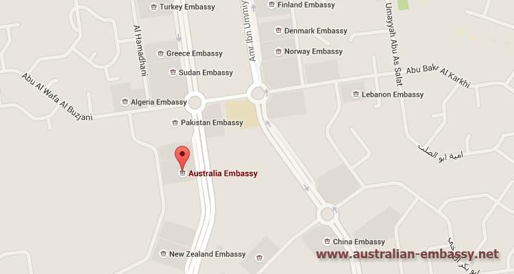 Australian Embassy Saudi Arabia
