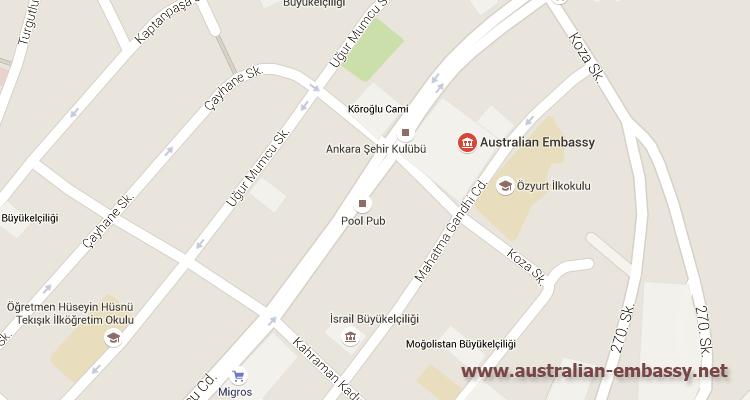 Australian Embassy Turkey