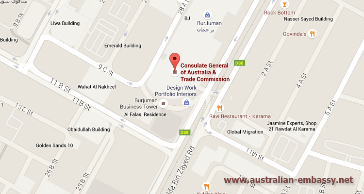 Australian Consulate-General in Dubai