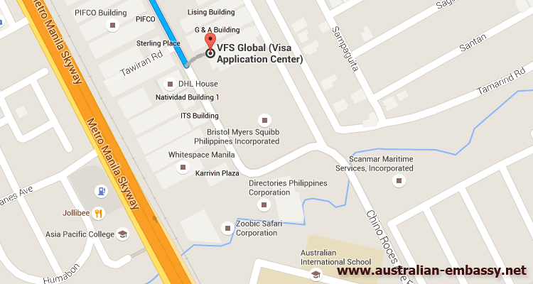 VFS Australian Visa Application Centre Makati