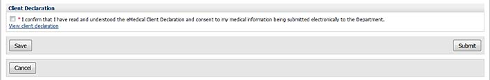 emedical-client-declaration