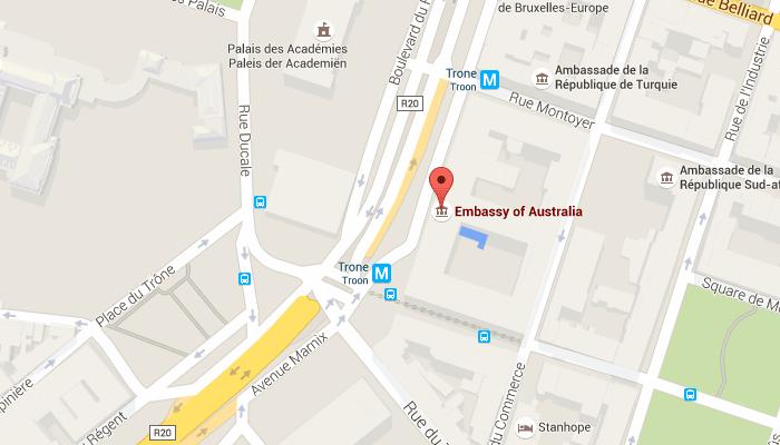 Australian Embassy in Belgium
